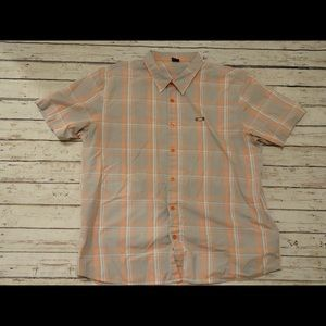 Oakley Button-down Mens Shirt Short Sleeve Sz XX-L